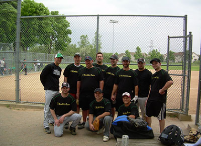 Sheet metal workers union baseball team
